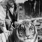 Michael Bleyman and tiger.